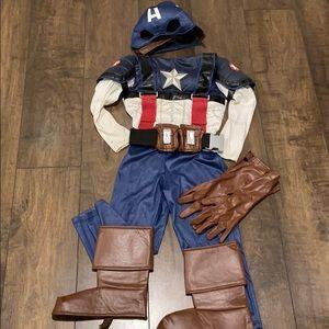 Disney Store Captain America costume Small (5-6)